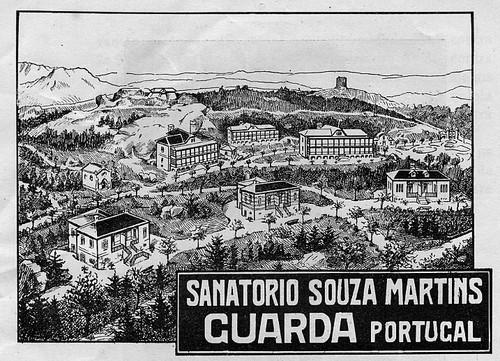 Sanatório Sousa Martins - gravura