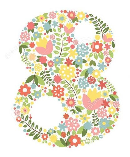 número-oito-de-flores-elemento-do-esboço-para-49