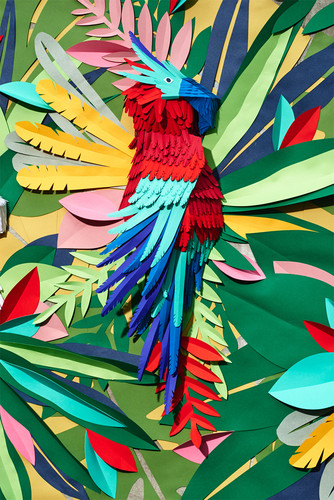 mlle-hipolyte-animal-paper-wall-installation-desig