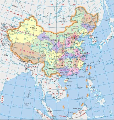 Mapa China5