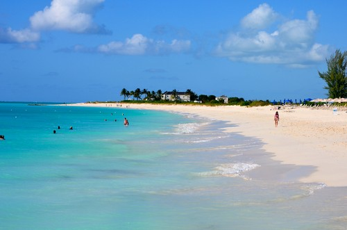 Grace Bay Beach (Providenciales, Ilhas Turcas e Ca