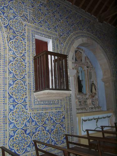 Revestimento cerâmico da Igreja de São Tiago Maior, Castelo de Vide