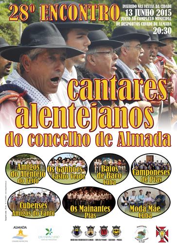 Cartaz 28º Encontro de Cantares Alentejanos - 13-6-2015.PNG