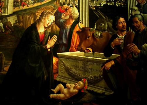 «Natividade de cristo», Domenico Ghirlandaio,Cap