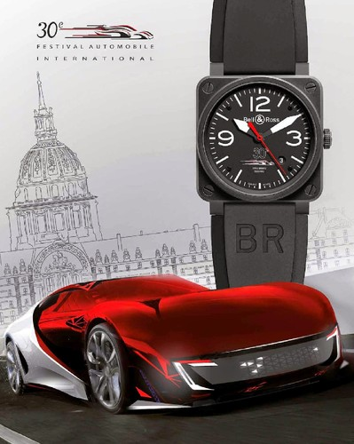 Bell & Ross BR 03 Festival Automobile Internationa