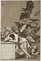 Museo del Prado Goya Caprichos El sueño de la razon... in wikipédia