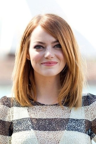 Emma-Stones-Shoulder-Length-Hair-Styles-Straight-M
