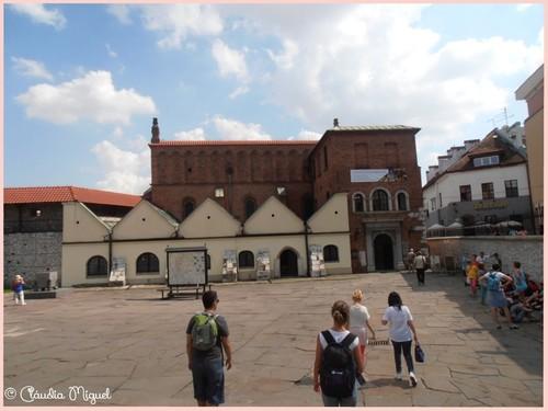 Sinagoga velha de Cracóvia