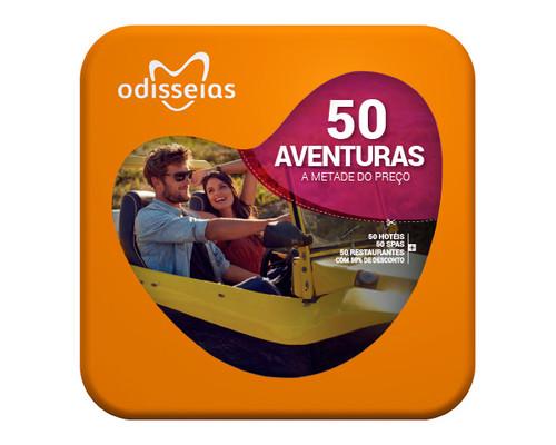 Odisseias - Pack Aventuras - 200 Experiências de Norte  a Sul do País