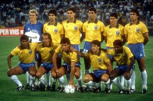 Brazil 1990.06.10.Turin,Italy.WC GR-Sweden v Brazi