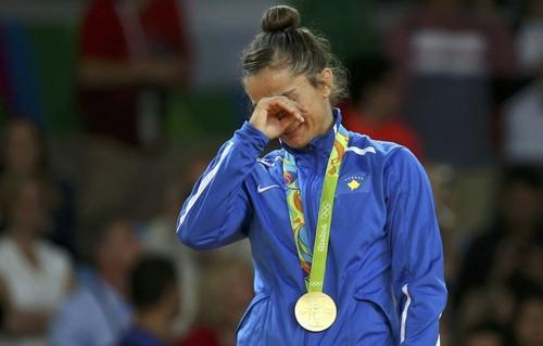 Majlinda Kelmendi sagrou-se campeã olímpica no judo