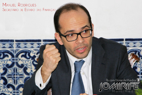 Manuel Rodrigues | Secretário de Estado das Finanças de Portugal | Secretary of State for Finance