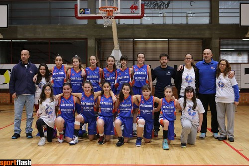 Sub 14 femininas Fase Final Distrital 2015-2016.jp