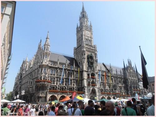 Rathaus na Marienplatz