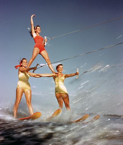 Three Girl Pyramid, 1957, Lewis Hine.jpg