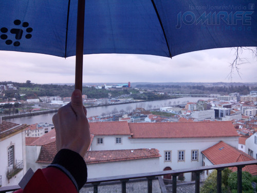 Dia de chuva em Coimbra. Rainy day in Coimbra