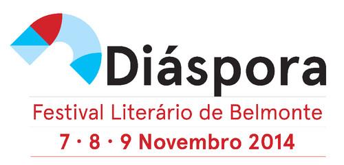 Logótipo Diáspora - Festival Literário de Belmo