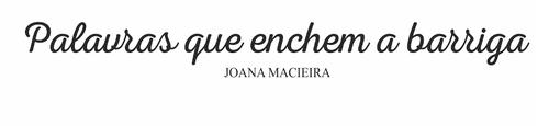 O meu bem estar BLOG - Joana Macieira