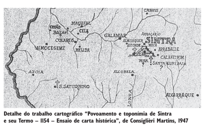 Mapa antigo de colares prediais artigos