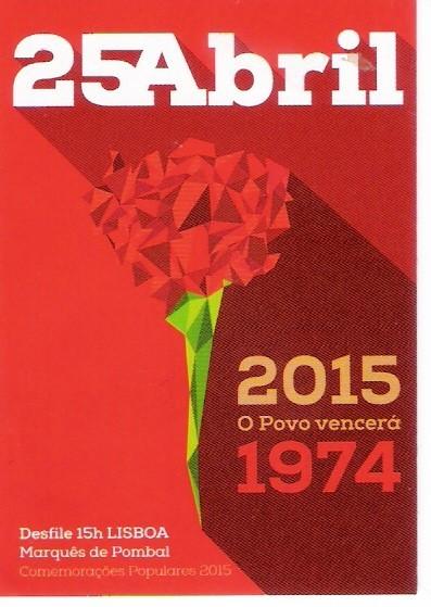 Comemorações 25Abril Lisboa