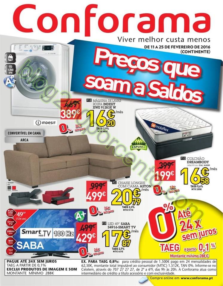 Antevisão Folheto CONFORAMA Promoções de 11 a 2