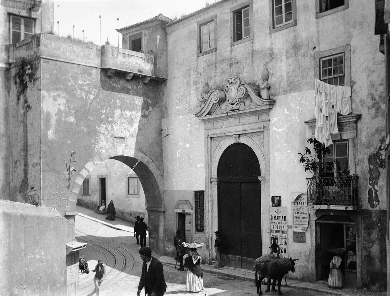 Arco de Santo André, fotógrafo ni, in a.f. C.M.L