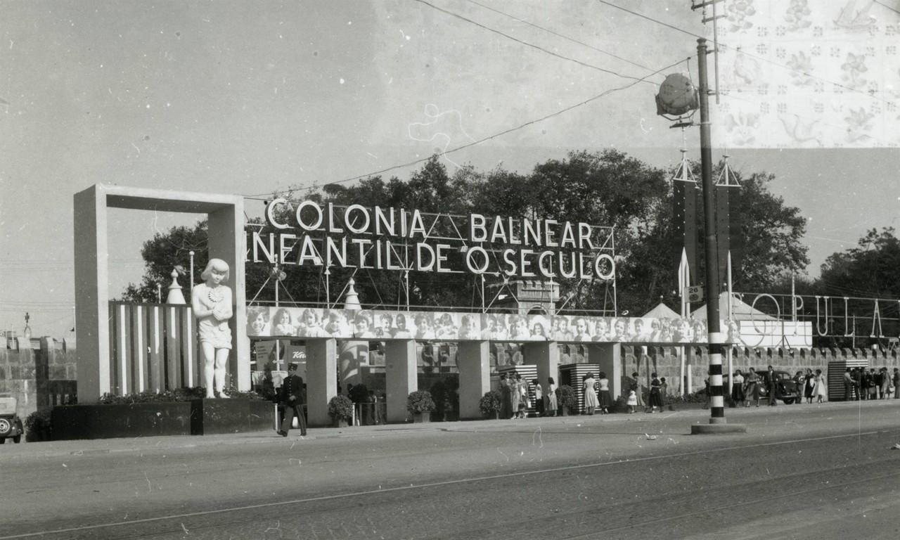 Feira Popular de Lisboa no antigo parque José Mar