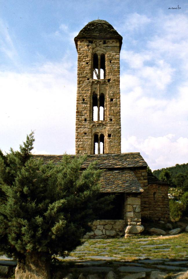 ao acaso #27 igreja de San Miguel de Engolasters,