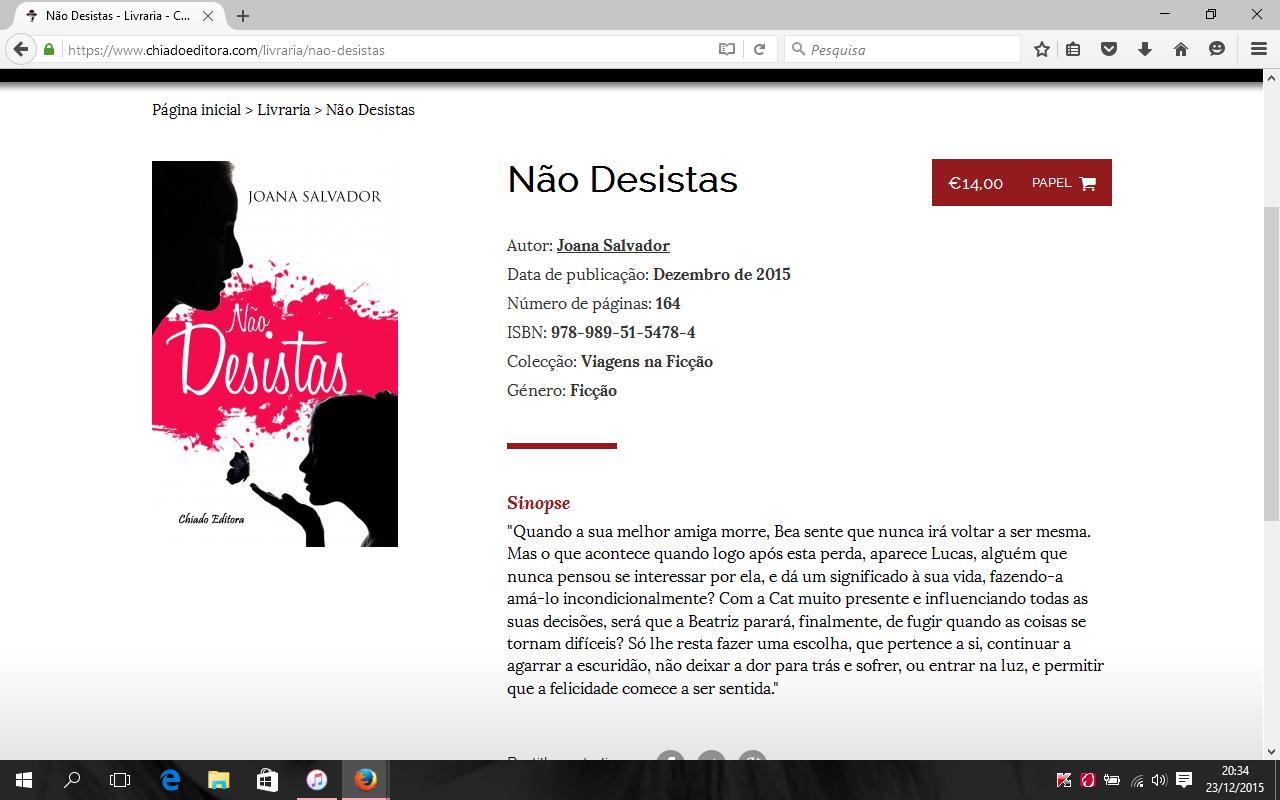 Página Chiado Editora de Não Desistas.PNG