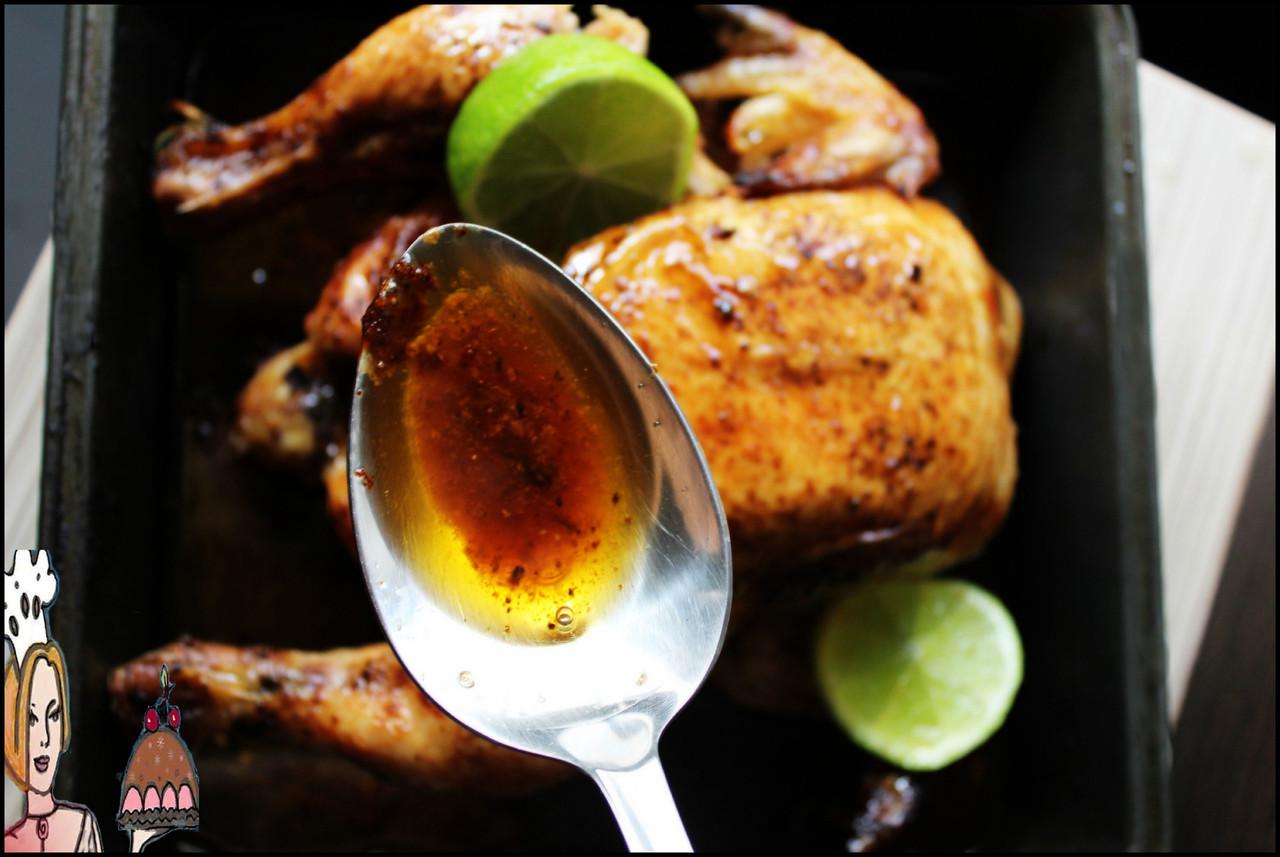 Receita de frango assado divinal com lima