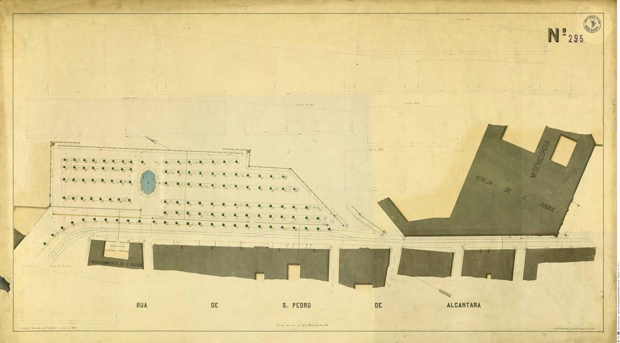 Levantamento topográfico de Francisco Goullard n.