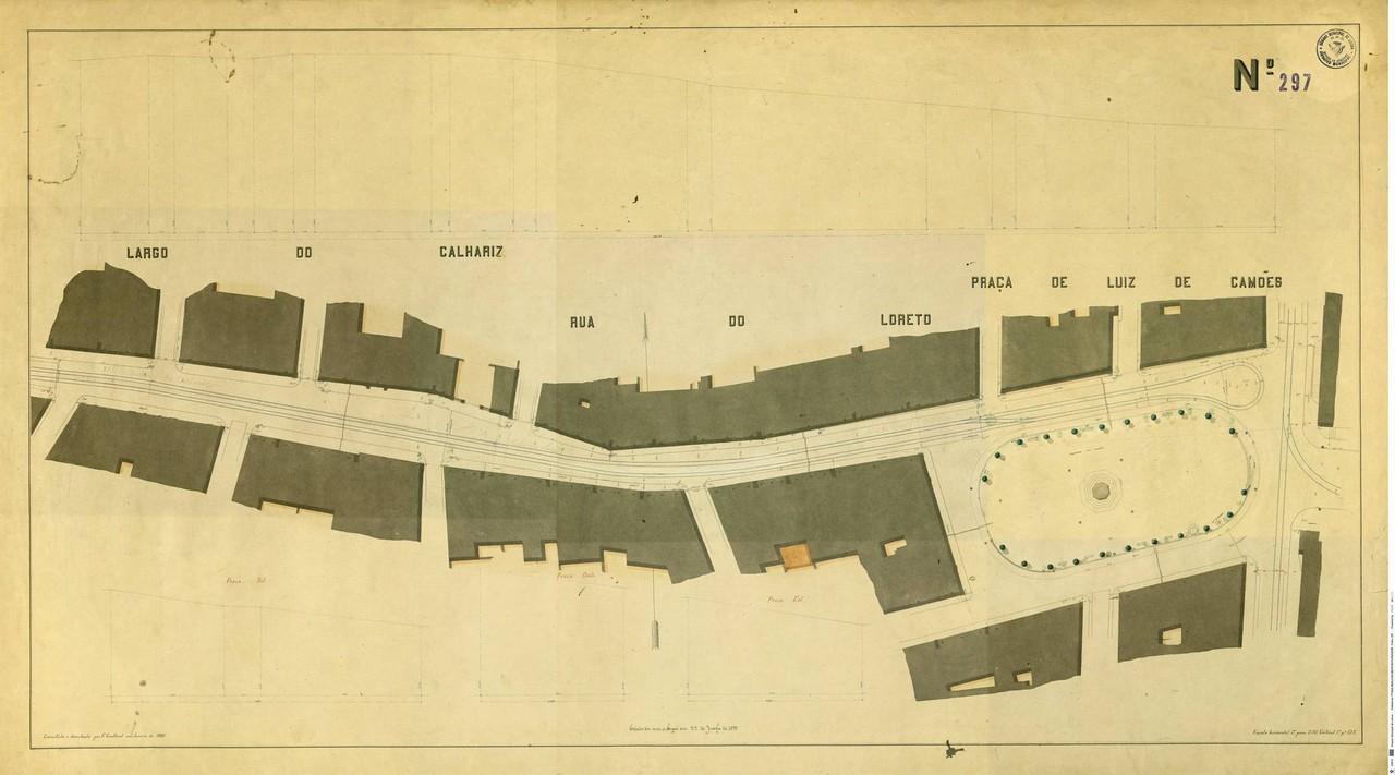 Levantamento topográfico de Francisco Goullard, n