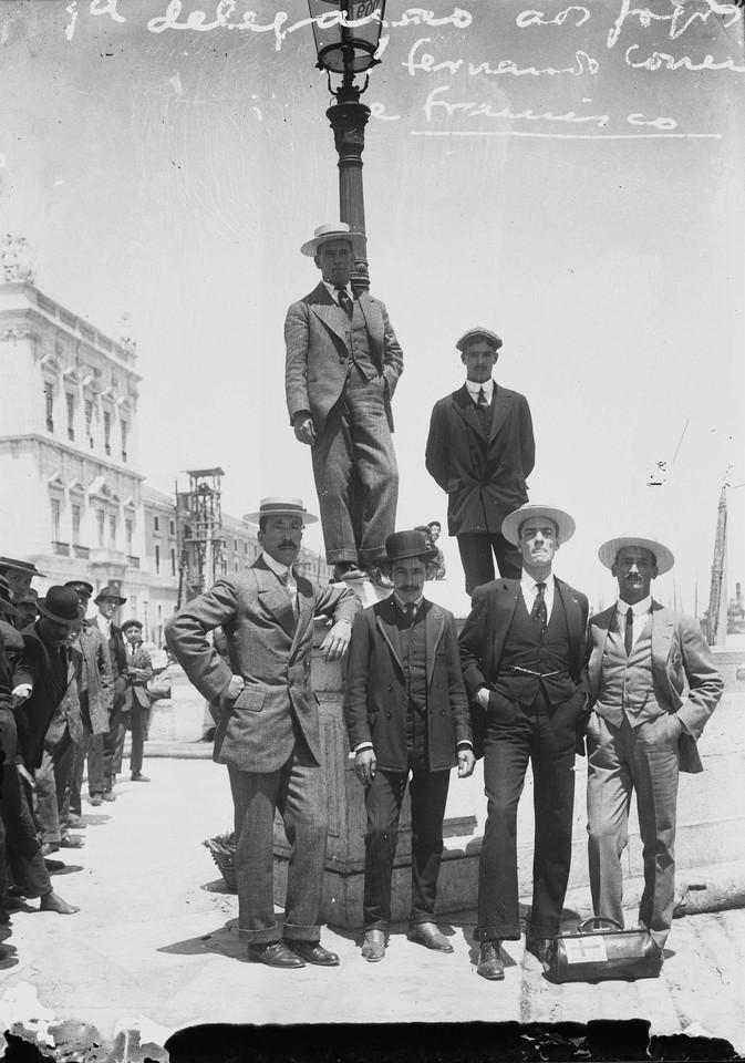 1ª delegação Portuguesa nos Jogos Olímpicos de