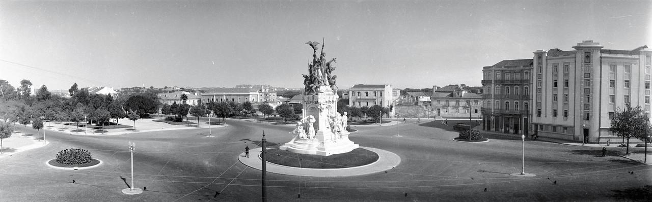 Monumento á Guerra peninsular, Entrecampos (J. Benoliel, post 1933)