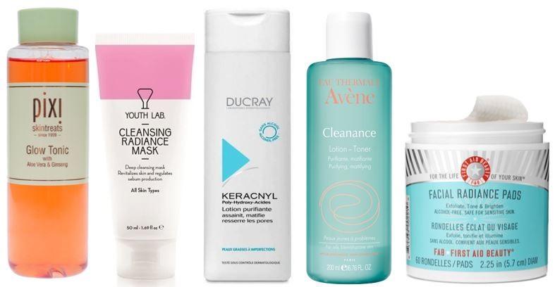 mascaras tonicos pele acneica melhores produtos re