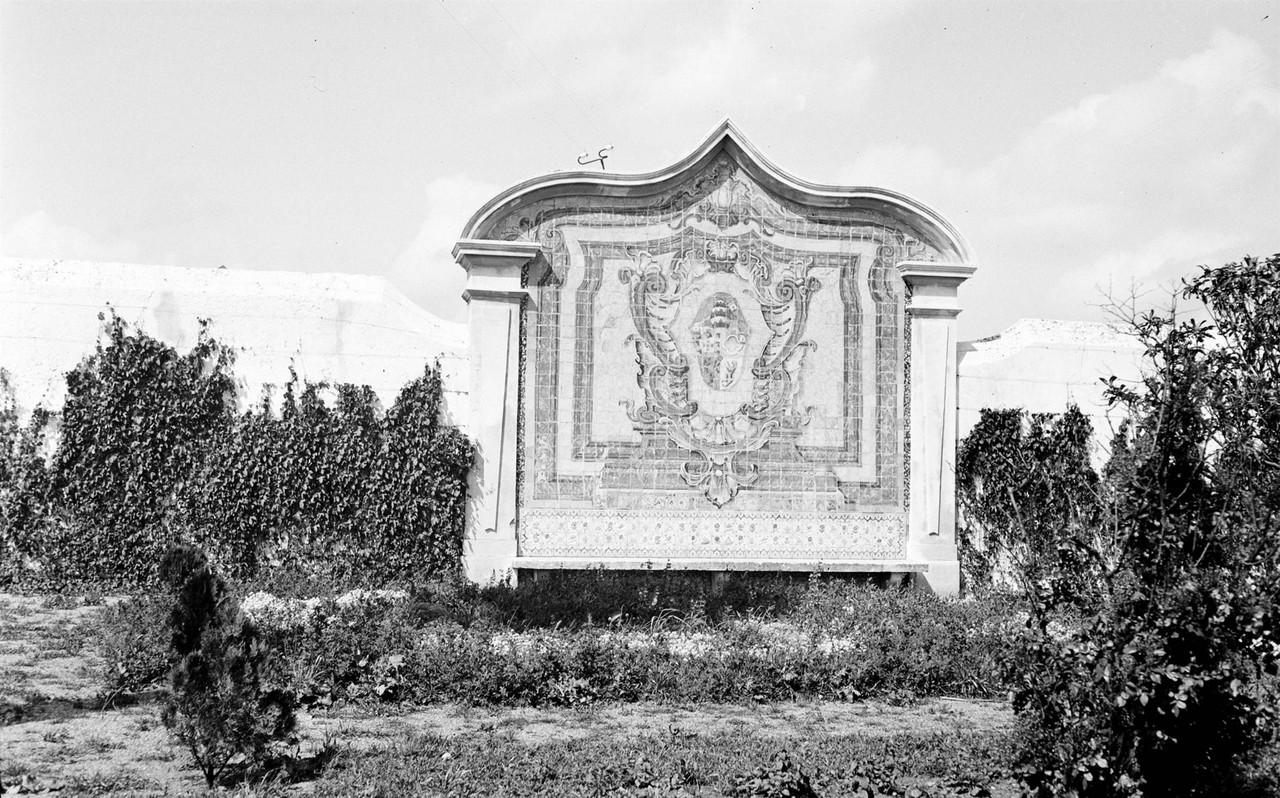 Palácio da Mitra, painel de azulejos do jardim, c