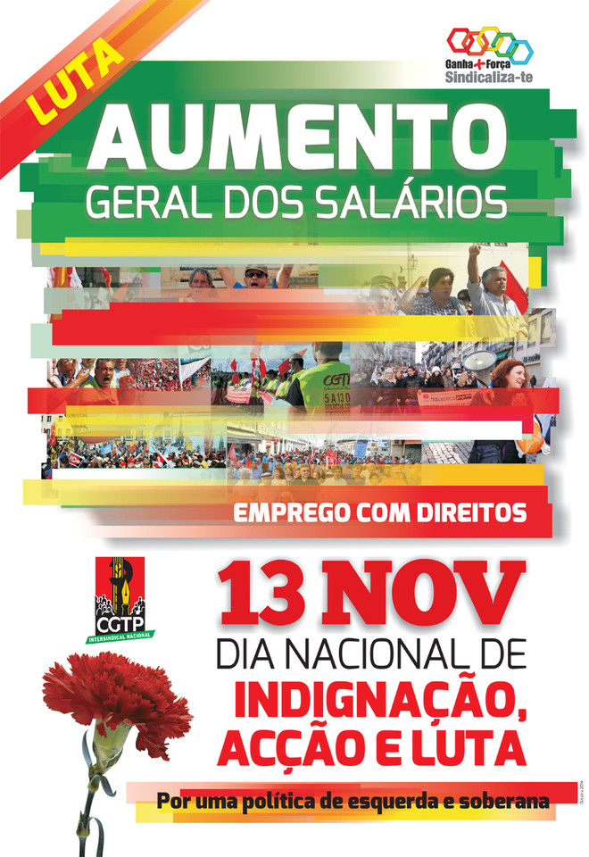 cartaz CGTP 13 Nov 2014