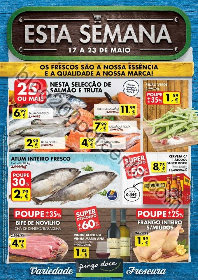 Antevisão Folheto PINGO DOCE Madeira de 17 a 23 m