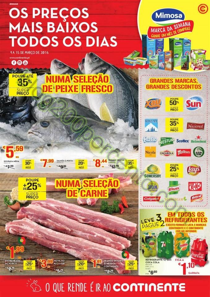 Antevisão Folheto MODELO - CONTINENTE Madeira de