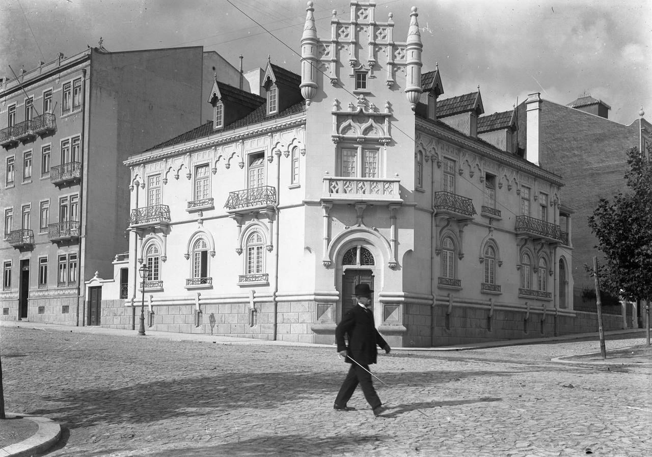 Data de construção de 1909, da autoria do arqº