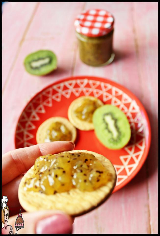 Compota de kiwi