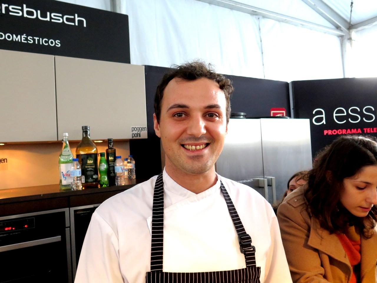 Chef pasteleiro Telmo Moutinho