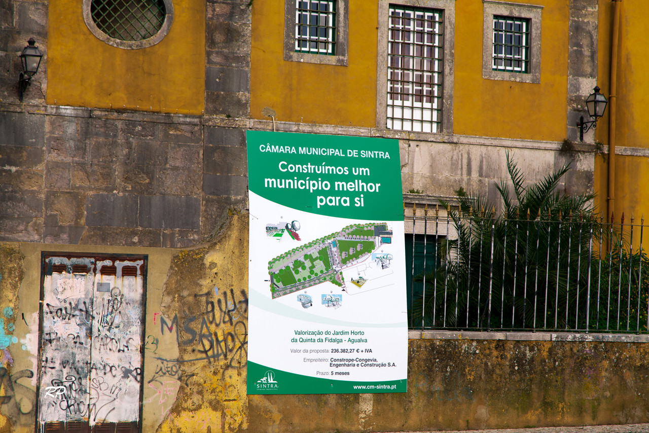 Contrato de Construção do Parque da Quinta das F