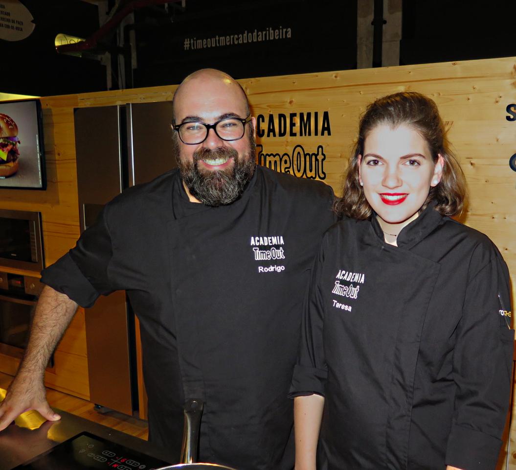 Rodrigo Meneses e Teresa Cameira