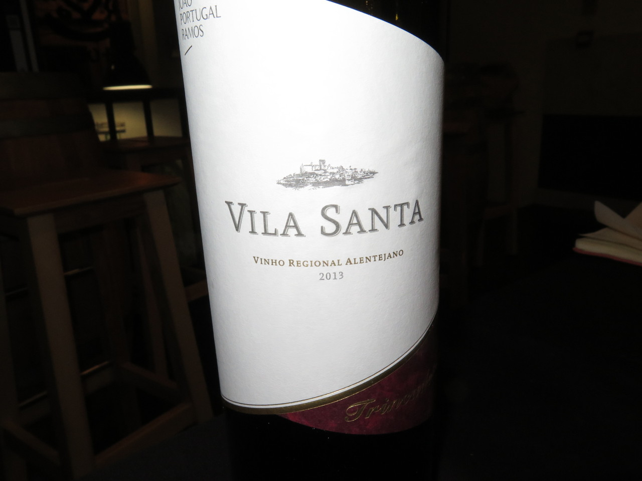 Vila Santa Trincadeira Tinto 2013