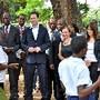 MOZAMBIQUE BRITAIN NICK CLEGG VISIT