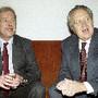 Checoslováquia Mario Soares Recebe Vaclav Havel
