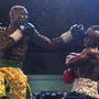 Combate em Accra