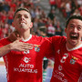 Benfica festeja no dérbi de futsal
