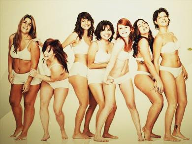 mulheres todas diferentes